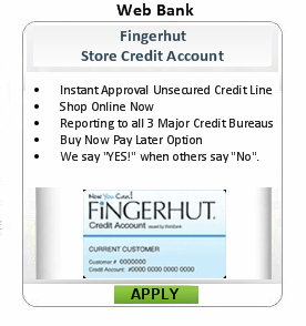 bad credit credit card credit application online