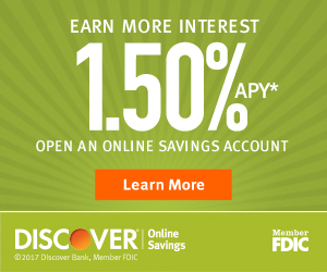 discover bank account online